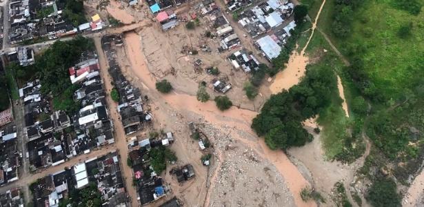 TRAGÉDIA! Governo da Colômbia decretou estado de calamidade com mais de 250 mortos no sul do país