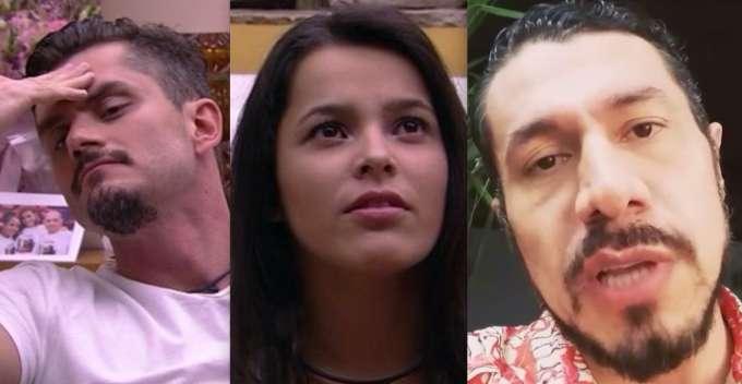 Ex-BBB Rômulo, diz que carta de Marcos para Emilly é uma farsa, VEJA!