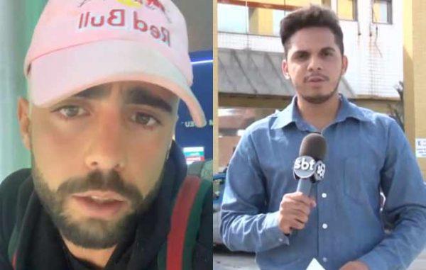 Pedro Scooby nega caso com jornalista e suposto print íntimo vaza na web